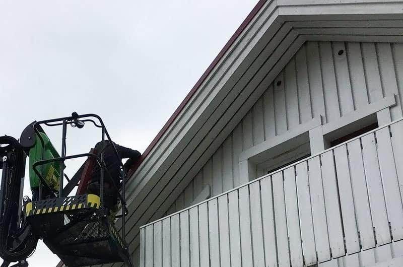 Säännöllinen katon huolto